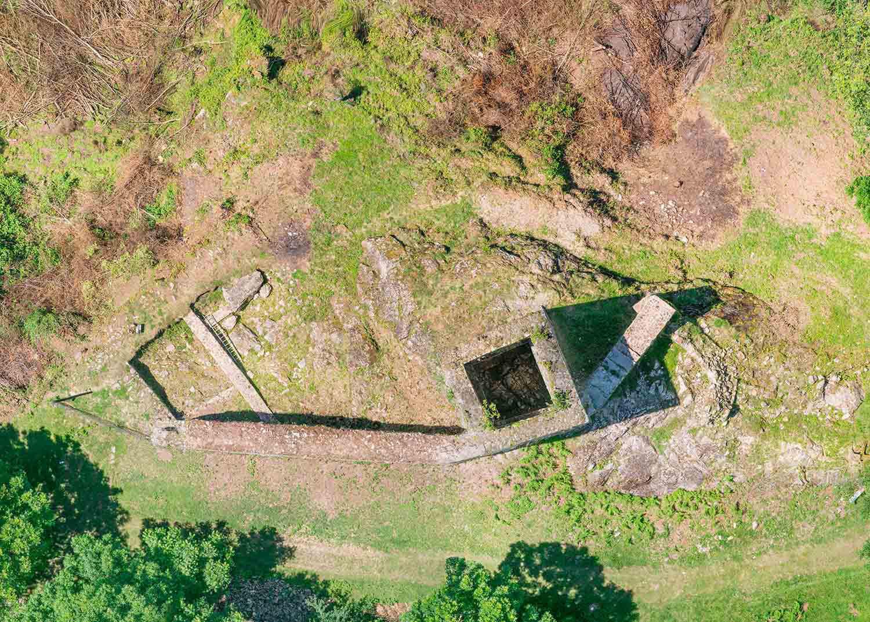Rehabilitación del castillo de Les - Fetdeterra